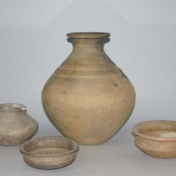 Keltske glinene posude mlađega željeznog doba (4–1. st. prije Krista), pronađene u Domašincu